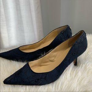 Ivanka Trump 🛩 blue lace shoe size 12M